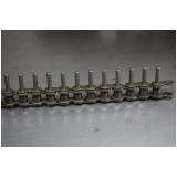 distribuidor de corrente de rolo com pino saliente