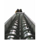 transportador helicoidal vertical