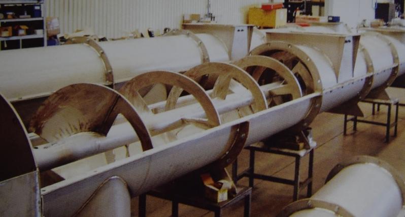 Fornecedor de Transportador Helicoidal Flexível Betim - Transportador Helicoidal Tubular