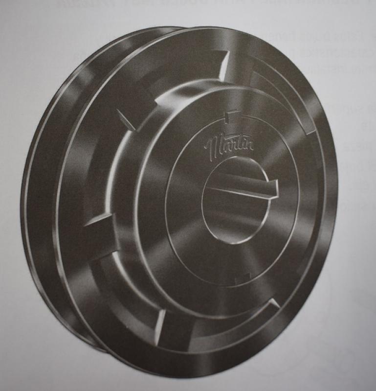 Polias de Alumínio em V Sumaré - Polias com Bucha Cônica