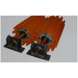 fornecedor de rolete esteira industrial Sacomã